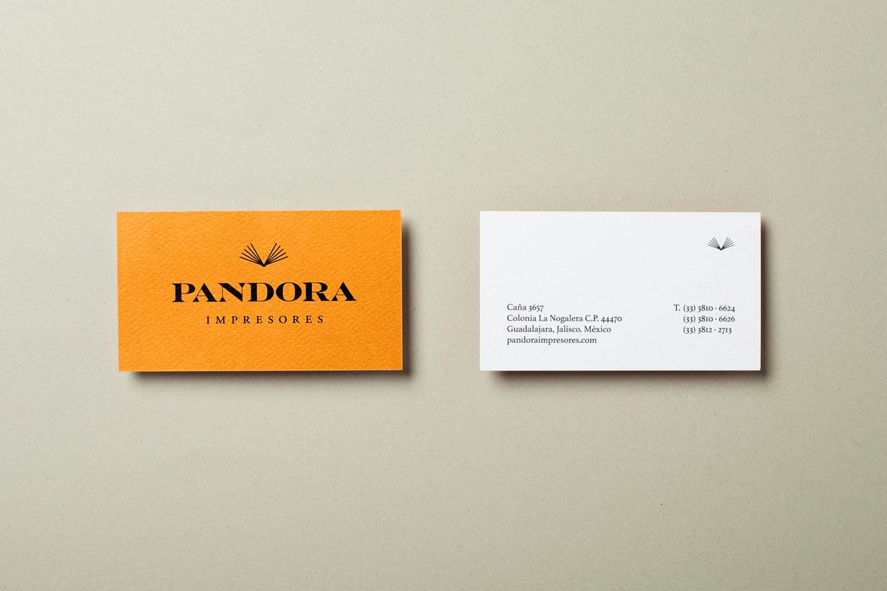 Pandora-Branding-Tarjeta