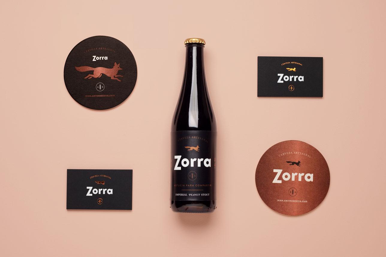 Zorra-Piezas